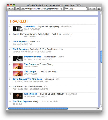 BBC Radio 2 and Audio Hijack Pro scripts - All this