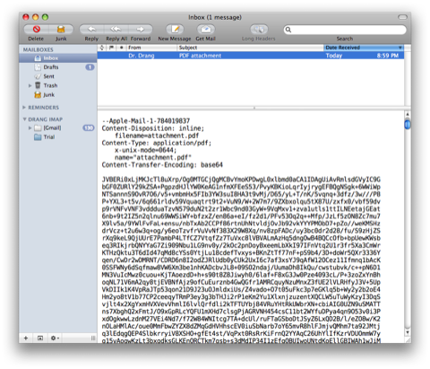 Email merging and attachments with Python - All this