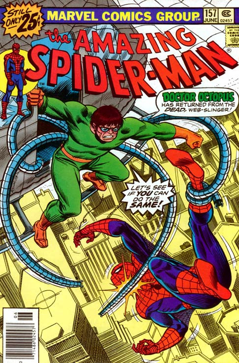 Spider-man 157 cover