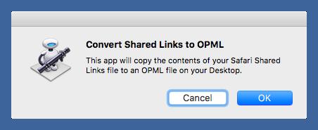 Shared Links converter