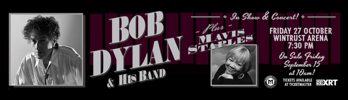 Dylan concert promo