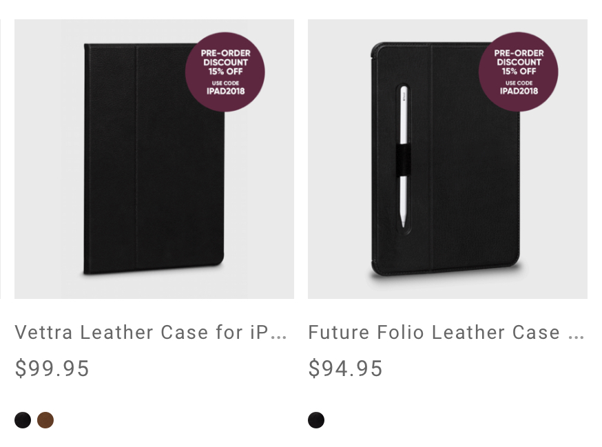 New Sena iPad Pro cases