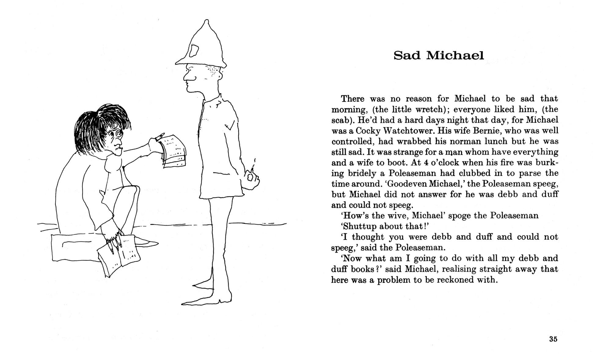 Sad Michael