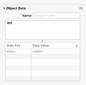OmniGraffle object data inspector