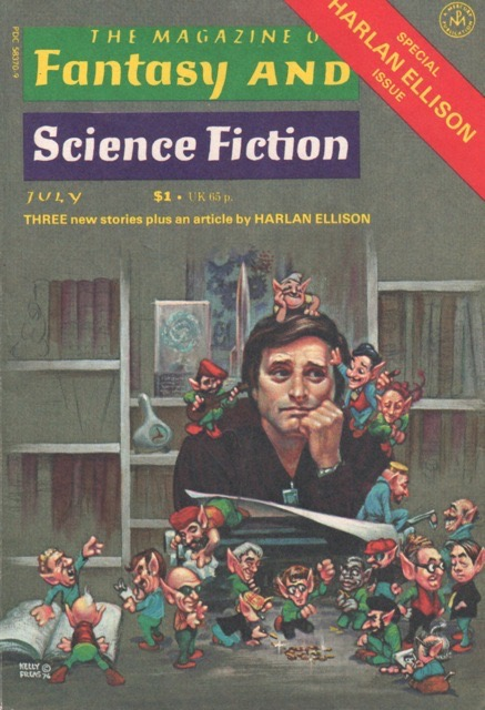 Harlan Ellison issue of Fantasy and Science Fiction
