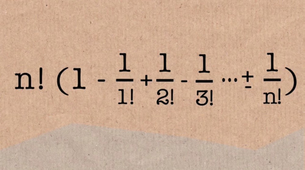 Numberphile equation screenshot