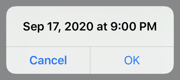 Incorrect date with correct time