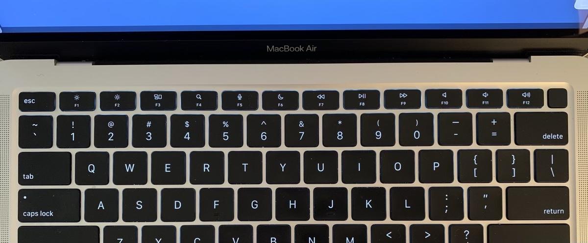 MacBook Air function keys